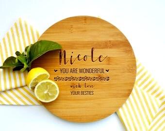 Personalized Cutting Board, Custom Cutting Board, Gift for Mum, Wonderful