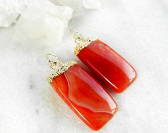 agate earrings, gold earrings, gold filled, druzy earrings, gold druzy, dangle earrings, drop earrings, quartz earrings, agate slice