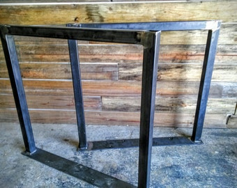 Tall Square Steel Dining Table Legs