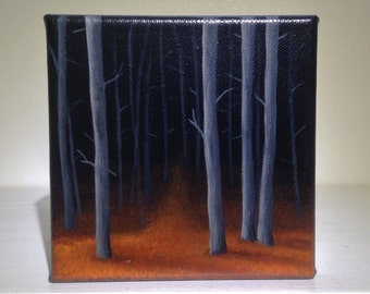 Tree Art, Tree Painting, Original Artwork, Home Decor, Art, Free Shipping in the US!