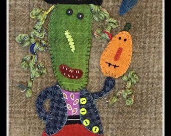 Matilda Wool Appliqué Kit and Pattern