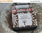 CHRISTMASINJULYSALE Acne Face Wash, Dry Skin,Salty Witch - Black Soap - Natural Antibacterial Soap