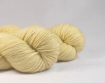 Hand Dyed Superwash Merino DK Yarn Wheat