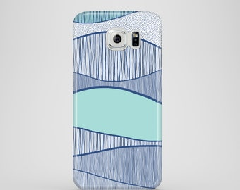 Blue Waves phone case / water phone case / Samsung Galaxy S6, Samsung Galaxy S6 Edge, Samsung Galaxy S5, Samsung Galaxy S3 / sea phone case
