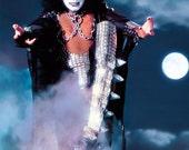 "KISS Gene Simmons ""MIDNIGHT"" Counter Top Stand Up Display - Kiss Band Kiss Collectibles Kiss Memorabilia Retro Gift Idea Pintrest kiss76"