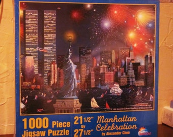 NEW, Vintage 1000 Pc. Jigsaw Puzzle, Twin Towers