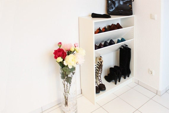shoe shelf compartment for ikea billy shelf by newswedishdesign. Black Bedroom Furniture Sets. Home Design Ideas