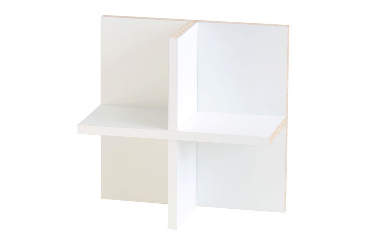utilisation du cd pour tag re ikea kallax blanc. Black Bedroom Furniture Sets. Home Design Ideas