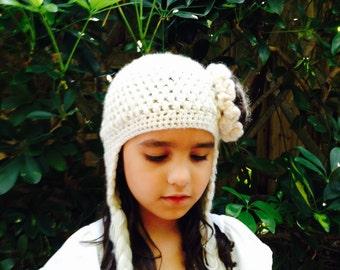 Crochet Hat With Braids