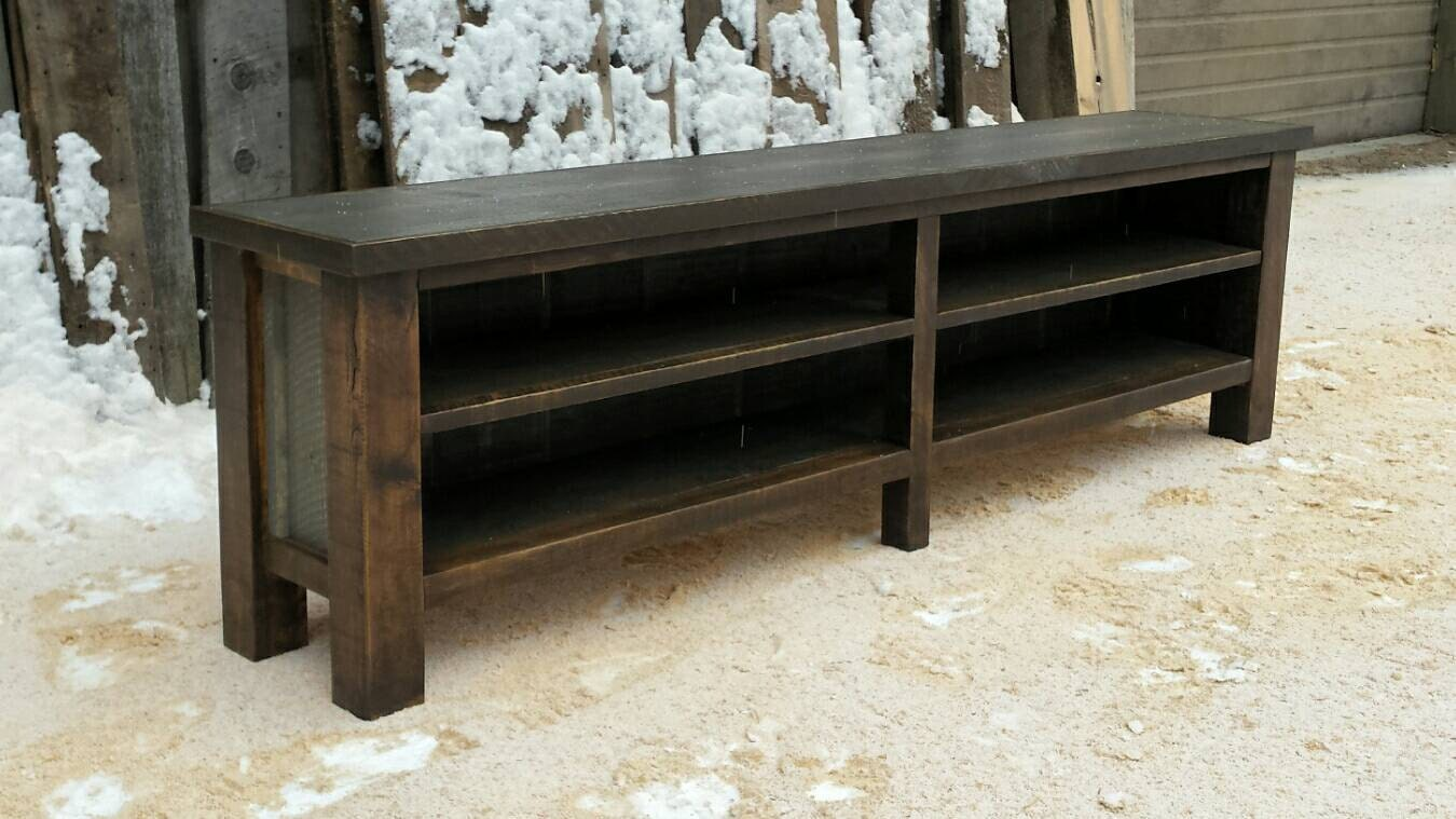 Rustic Entry Bench By Echopeakdesign On Etsy