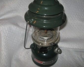 Vintage Coleman Adjustable Two Mantle Lantern