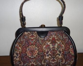 Kadin Tapestry Handbag