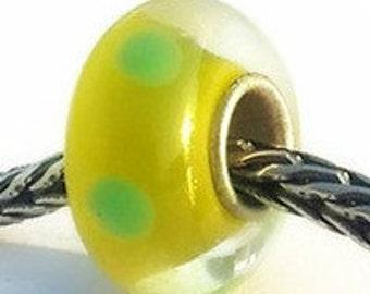 Large Hole Beads, European Charms, Glass & Lampwork Large Hole Beads, Sterling Silver Large Hole Beads, Large Hole Glass Bead, Beads