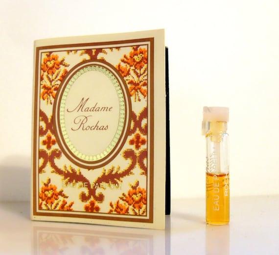 vintage 1980s madame rochas by rochas oz eau de parfum. Black Bedroom Furniture Sets. Home Design Ideas