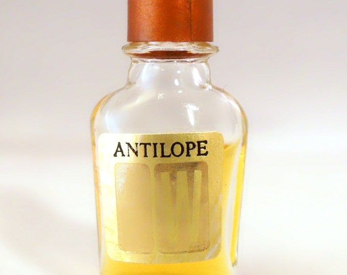 Vintage 1970s Antilope by Weil Micro Mini Perfume Miniature Parfum DISCONTINUED