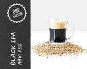 Black IPA 1 Gallon Beer Recipe Kit - option to ADD Brew Bag