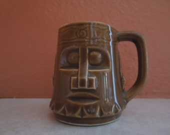 Vintage Tiki Shot Glass Toothpick Holder FREE SHIPPING
