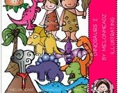 Dinosaur clip art - Combo Pack