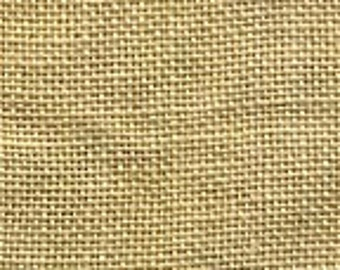 35 ct Linen, Parchment, by Weeks Dye Works, Fat Eighth FE, Hand Dyed, WDW