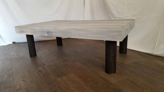 The Christine Grey Weathered Coffee Table