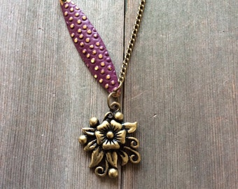 Sweet Bouquet Necklace/Modern/Boho