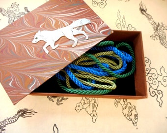 Decorative hand-made box for your jewelry or heirlooms - Stainless Steel Fox. Jewelry box. Treasures. Gift box.