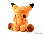 SALE! Baby Pikachu Jointed Doll Pokemon Amigurumi Plushie - One of a Kind