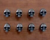 cabinet/door/drawer pulls. Solid bronze skulls. Bronze. Cabinet. Drawer. Handles. knobs.