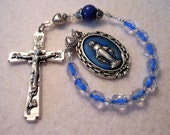 Miraculous Medal One Decade Pocket Rosary