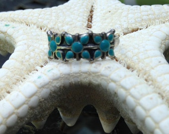 Vintage Sterling Southwest Turquoise Ring