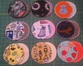 Breast pads Nursing Pads reusable pads round circle pads, all natural, 4.5'' diameter - in-stock
