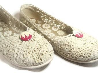 Vintage Inspired Shoe Clips, Pink Shoe Accessory, Dress Shoe Clips, Casual Shoe Clips, Sandal Shoe Clips