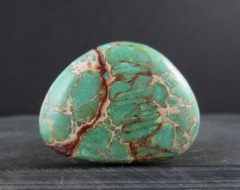 Beautiful  Green Sea sediment,  Free form, Jewelry making supplies B5925