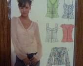 Simplicity NEW LOOK Pattern 6563 for Misses Blouse and Tops Sizes  8-18