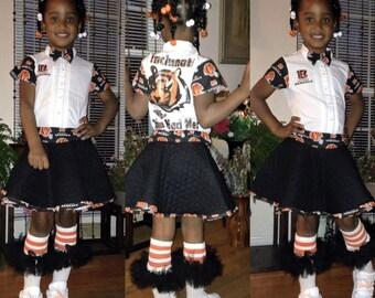 sports teams skirt set