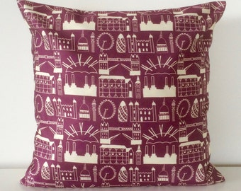 Heather London cushion cover
