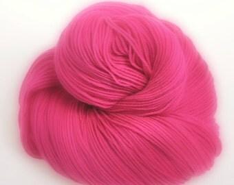 Hand dyed Yarn - Sock Yarn 'Cheeky Kiss' - DOWNUNDER SOCK Superwash Merino Wool