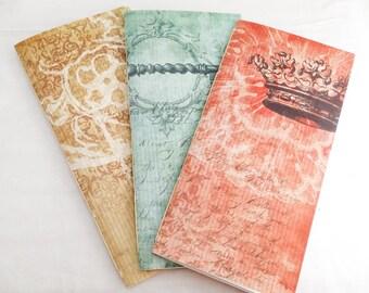 Fauxdori Traveler's Notebook Size Insert Blank Colored