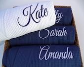 Monogram Robe / Bridesmaid Robes / Bridesmaid Gift / Waffle Robe / Monogram Bridesmaid Gifts / Robe / Wedding Robes