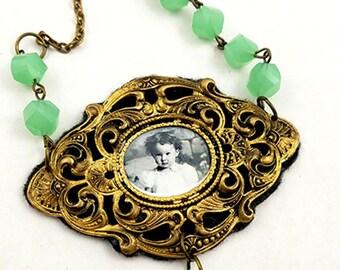Always A Little Girl Vintage Necklace