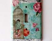 Vintage Inspired Romantic Light Switch Cover