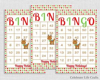 100 Thanksgiving Bingo Cards DIY Printable Game for