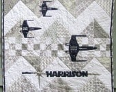 Personalized Star Wars Baby Quilt