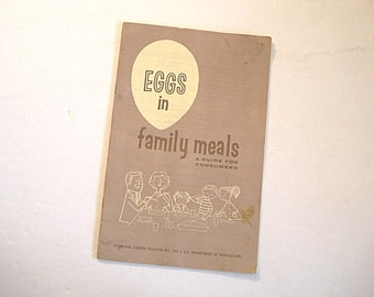 Eggs in Family Meals, Egg Recipes, Buying Eggs tips, Omelet Recipes, Egg Salad,Government Booklet,Cooking Guide Eggs,Eggs,Recipes With Eggs