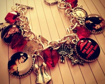 Rocky Horror Picture Show The Movie Charm Bracelet