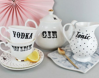 Boozy Tea Set For Two