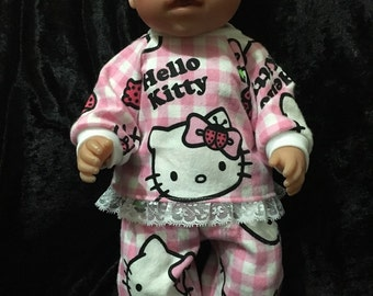 """Dolls clothes made to fit 42cm (16"""") Baby Borb dolls, Cabbage Patch and other similar sized  dolls"""