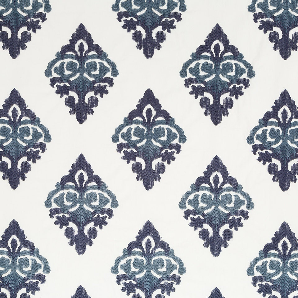 navy blue embroidered fabric blue upholstery fabric custom blue embroidered curtains navy. Black Bedroom Furniture Sets. Home Design Ideas
