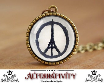 Pray for Paris, Paris attacks, Paris Peace symbol, Eiffel Tower peace sign (4)