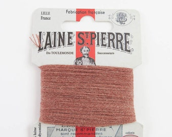 Laine St. Pierre French Wool Embroidery Floss for Hand Embroidery, Darning | Wool Embroidery Thread in BUFF (#218-A1)